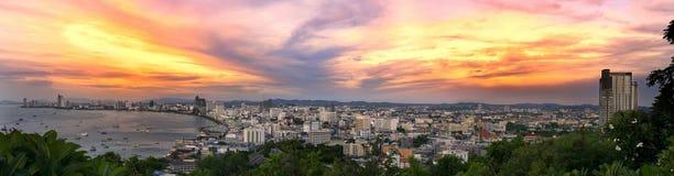 Pattaya, Thailand sunset Stock Photo