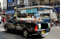 Pattaya, Thailand: Tuk-Tuk Transport Truck Royalty Free Stock Photo
