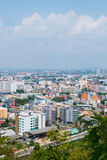 Pattaya, Thailand. View from top of The building cityscape and skyscraper in daytime Stock Photos