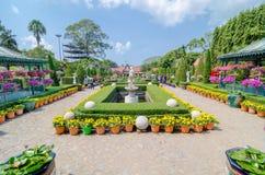 Pattaya,ThailandNong : Nooch Tropical Garden desig Stock Images
