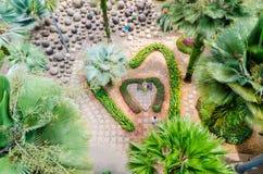 Pattaya,ThailandNong : Nooch Tropical Garden desig Stock Photos