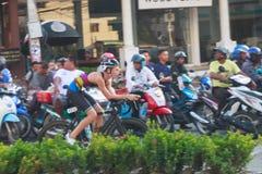 Pattaya triathlon 2015 Royalty Free Stock Photos