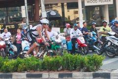 Pattaya triathlon 2015 Stock Photos