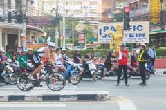 Pattaya triathlon 2015 Royalty Free Stock Photography