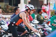 Pattaya triathlon 2015 Royalty Free Stock Image