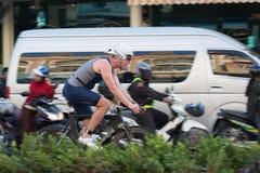 Pattaya triathlon 2015 Stock Photography