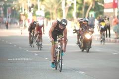 Pattaya Triathlon,Thailand Tri-League Tour Series 2015. Stock Image