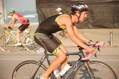 Pattaya Triathlon,Thailand Tri-League Tour Series 2015. Stock Photo
