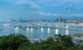 Pattaya View Stock Photos