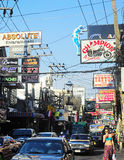 Pattaya Walking Street Stock Photography