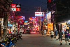 Pattaya Walking Street Royalty Free Stock Photo