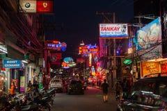 Pattaya Walking Street Stock Image