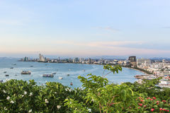 Pattaya zatoka Obrazy Stock