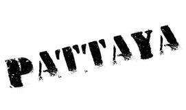 Pattaya znaczka gumy grunge Obrazy Royalty Free