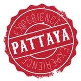 Pattaya znaczka gumy grunge Fotografia Royalty Free