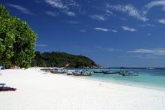 Pattayastrand op Lipe-eiland Stock Foto's