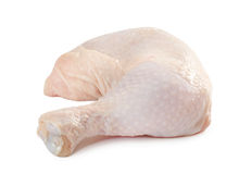 Patte de poulet crue fraîche Photos stock