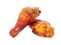 Patte de poulet deux Images stock
