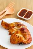 Patte de poulet grillée Images libres de droits