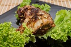 Patte de poulet rôti Image stock