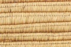 Patten крыши соломы Стоковые Фото