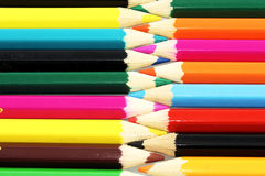 Patten color pencil Royalty Free Stock Photography