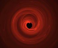 Patten del corazón Fotos de archivo libres de regalías