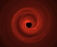 Patten del cuore Fotografie Stock Libere da Diritti