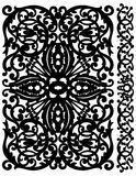 Patten lattice Stock Images