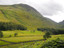 Patterdale in the English Lake District. Typical Lakeland landscape in Patterdale, Lake District, UK Stock Image