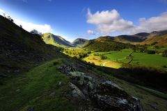 Patterdale Royalty Free Stock Images