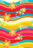 Pattern-03 floral sem emenda Fotografia de Stock