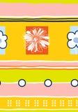 Pattern-03 floral sem emenda foto de stock royalty free