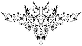 Ornamental Pattern. Ornamental design, digital artwork stock illustration