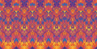 Pattern. Pattern of repeating colored tracery Royalty Free Stock Photos