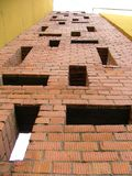 Pattern. Of bricks Royalty Free Stock Image