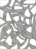 Pattern. Abstract curved lines pattern for designing Royalty Free Stock Photo