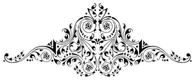 Pattern 14. Ornamental design, digital artwork royalty free illustration