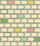 Abstract geometric pattern with lines stock illustration