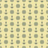 Abstract pattern. seamless background. Marine vector illustration
