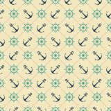Abstract pattern. seamless background. Marine stock illustration