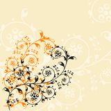 Pattern 18. Ornamental design, digital artwork vector illustration