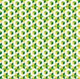 Pattern. Seamless tileable bright isometric cube pattern Royalty Free Stock Photo