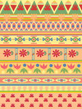 Pattern. Colored pattern, with flours elements Stock Photography