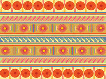 Pattern. Colored pattern, with flours elements Stock Image