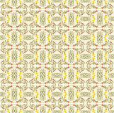 Pattern. Floral vector pattern on the light background Stock Images