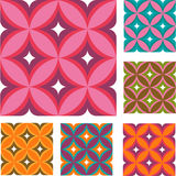 Pattern. Color fabric pattern, vector file Royalty Free Stock Images