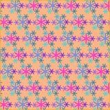 雪pattern2 库存照片