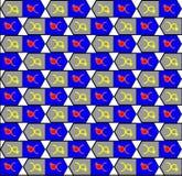 Pattern-0001 Imagem de Stock Royalty Free