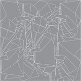 Pattern. White lines on a grey pattern Royalty Free Stock Images